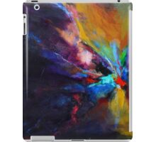 Flow,  from original Mixed Media Abstract Painting by Madeleine Kelly iPad Case/Skin