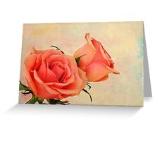 Peaches and Cream Greeting Card