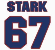 National baseball player Denny Stark jersey 67 by imsport