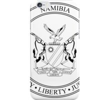 National Seal of Namibia  iPhone Case/Skin