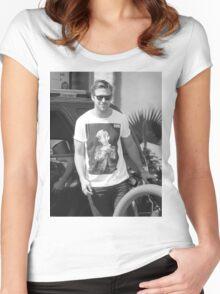 GOSLING VS CULKIN #1 Women's Fitted Scoop T-Shirt