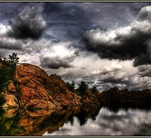 Storm in the Dells by Wayne King