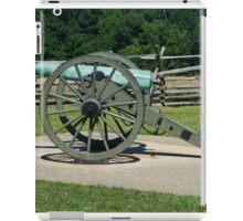 Cannon fire Gettysburg iPad Case/Skin