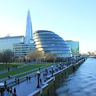 London view from Tower Bridge by Arvind Singh