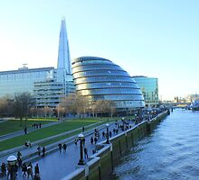 Can you see it from Tower Bridge by Arvind Singh