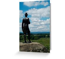 Little round top Gettysburg (color) Greeting Card
