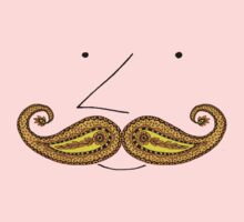 Paisley Mustache Kids Clothes
