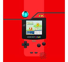 Pokemon Pokedex Gameboy Color Photographic Print