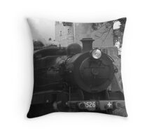 All Aboard Throw Pillow
