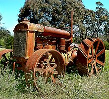 Tractor at Sutton Forest by George Petrovsky