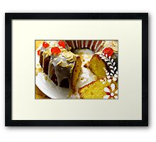 Just Delicious... Framed Print