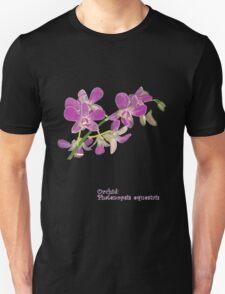 Orchid: Phalenopsis equestris T-Shirt