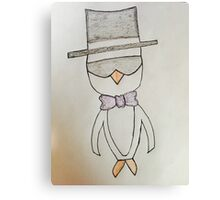 Fancy Penguin Canvas Print