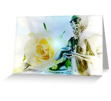 I offer you peace. Greeting Card