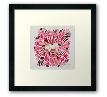As If – Gold & Pink Framed Print
