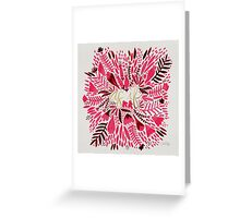 As If – Gold & Pink Greeting Card