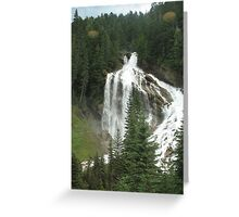 Pyramid Falls Greeting Card