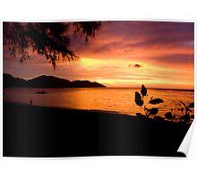 Penang Sunset Poster
