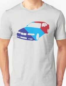 BMW e36 in Racing Colors T-Shirt