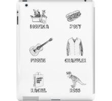Friends Characters iPad Case/Skin