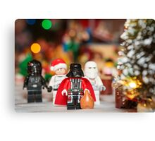 Santa Darth Vader Canvas Print