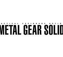 Metal Gear Solid Logo Art by STOREBARCODE