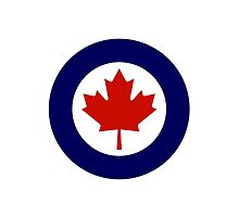 Roundel of the Royal Canadian Air Force by abbeyz71