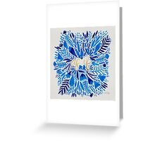 As If – Navy & Gold Greeting Card