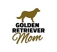 Golden Retriever Mom Photographic Print
