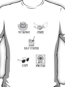Jamie Foxx Characters T-Shirt