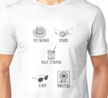 Jamie Foxx Characters Unisex T-Shirt