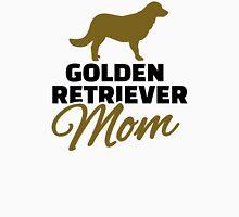 Golden Retriever Mom Womens Fitted T-Shirt