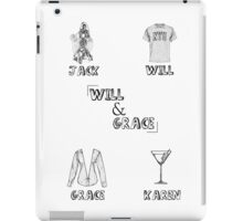 Will & Grace Characters iPad Case/Skin