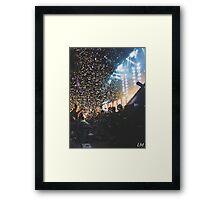 Paramore Concert Framed Print