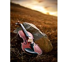 The Violin Photographic Print
