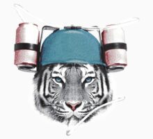 Cool White Tiger Kids Clothes