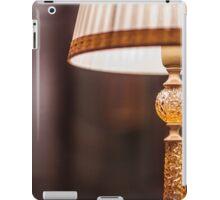 reading lamp with shade iPad Case/Skin