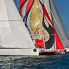 Middle Sea Race by Xandru