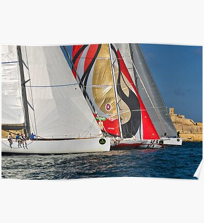Middle Sea Race Poster