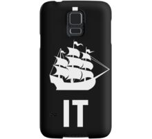 I SHIP IT (white lettering) Samsung Galaxy Case/Skin