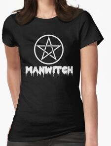MANWITCH Pentacle Womens Fitted T-Shirt