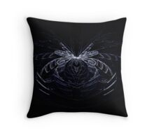 Alien Insect Throw Pillow