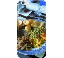 Boxing Day Dinner iPhone Case/Skin