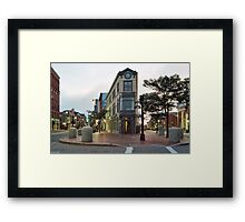 Congress Square Framed Print