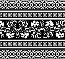 oriental pattern by VioDeSign