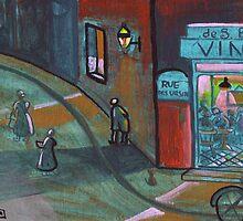Rue Des Ursin by sword