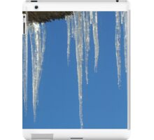 Icicles - Happy New Year! iPad Case/Skin