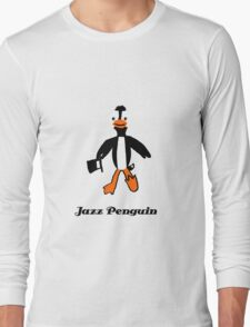 Jazz Penguin Long Sleeve T-Shirt