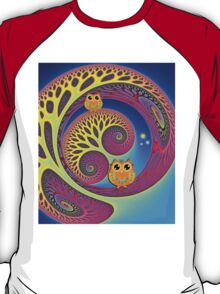 Owls in a magical world T-Shirt