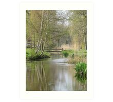 Canal Scape Art Print